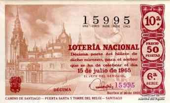 999 el jacobeo 2021 2022 una muestra de la relacion entre el camino de santiago y la loteria nacional - El Jacobeo 2021-2022, una muestra de la relación entre el Camino de Santiago y la Lotería Nacional