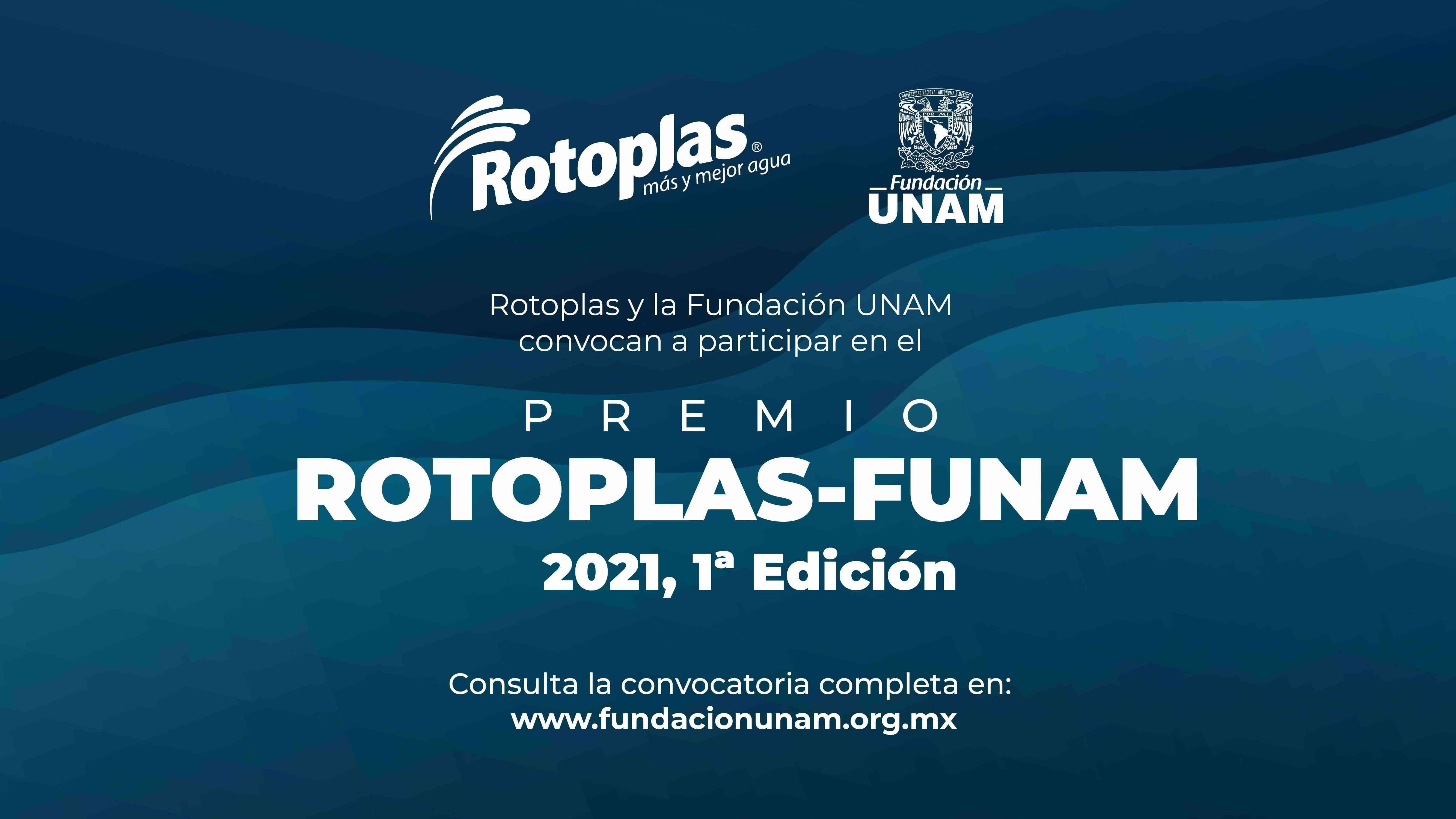 fundacion unam anuncia las bases para la primera edicion del premio rotoplas funam 2021 - Fundación UNAM anuncia las bases para la primera edición del Premio Rotoplas-FUNAM 2021